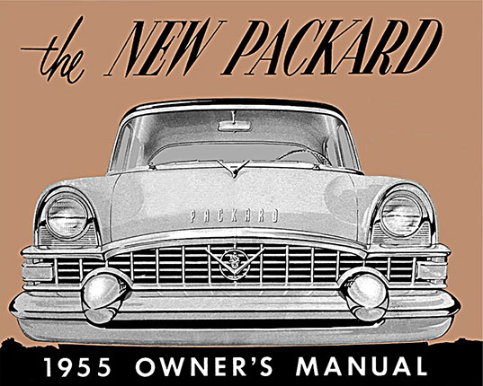 1955 Packard Clipper Owners Manual User Guide